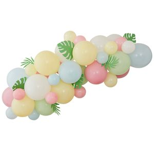 Ginger Ray for Paperchase foliage balloon arch kit