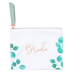 Wedding bride cosmetic bag