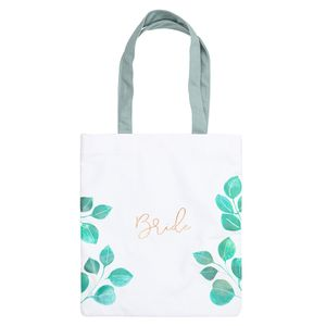 Wedding bride tote bag