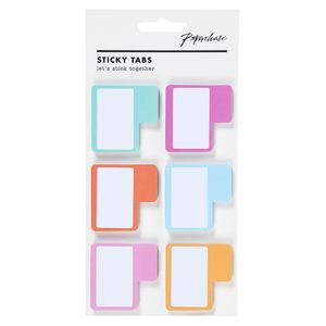Coloured sticky tabs