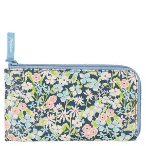 Dark blossom low zip pencil case
