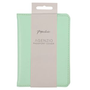 Agenzio mint passport cover