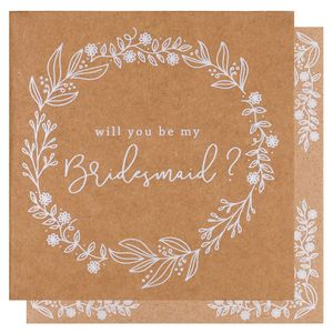 Bridesmaid proposal cards - pack of 6