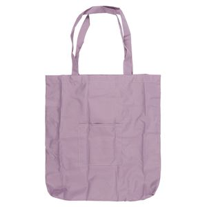 Lilac foldaway reusable bag