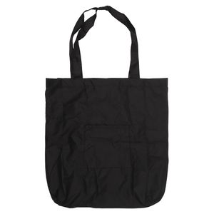 Black foldaway reusable bag