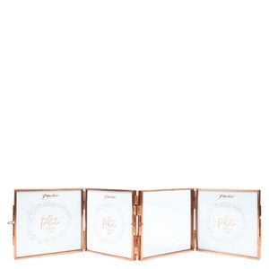 Rose gold folding frame - 4 frames