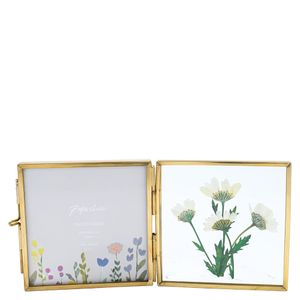 Small floral opening frame