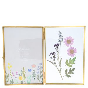 Medium pressed flower opening frame