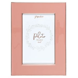 Dusty pink photo frame
