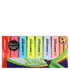 STABILO BOSS ORIGINAL exclusive highlighters - wallet of 8