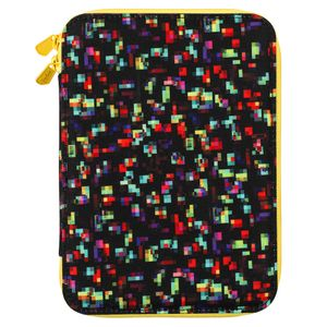 Pixelated rectangular case