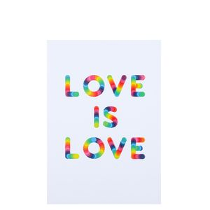 A5 love is love rainbow notebook