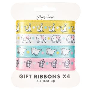 Baby animal ribbons - pack of 4