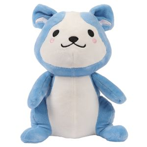 Pastel blue puppy plush