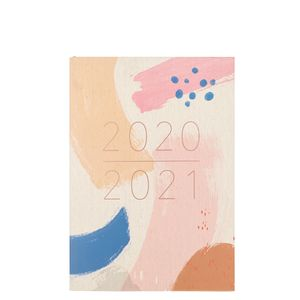 A5 abstract academic diary 2020-2021