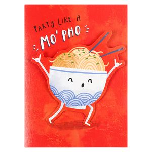 Party like a mo pho card