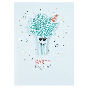 Party thyme card