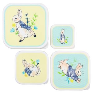 Peter Rabbit nested snack boxes