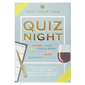 Host your own quiz night card game