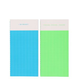 I'm Ready slim notebooks - pack of 2