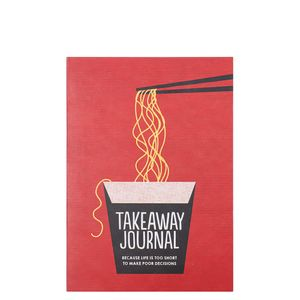 Takeaway decisions journal