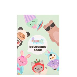 Buddies on Tour colouring book