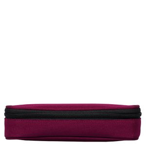 Multi Compartment Purple Pencil Case