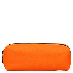 Neon orange square pencil case