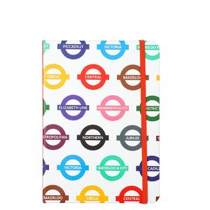 Mind The Gap A5 underground multi list book