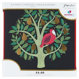 Partridge in a pear tree charity Christmas cards – pack of 8