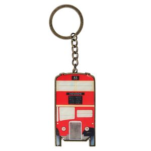 Mind The Gap bus keyring