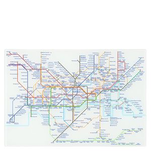Mind The Gap tube map magnet