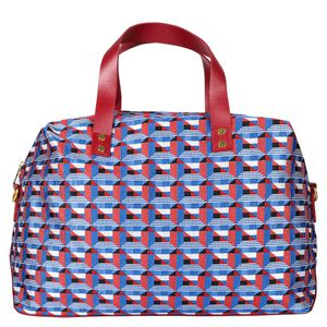 Mind The Gap vintage print holdall bag