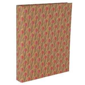 Graphic Tulip Kraft Ring Binder