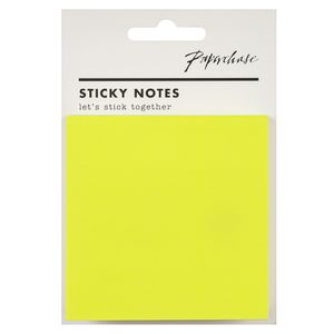Agenzio canary yellow sticky notes