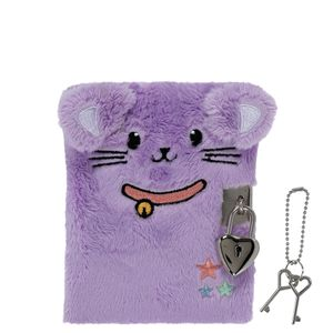 A6 Lockable Kitty Notebook