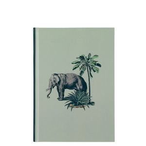 A5 Elephant Print Notebook