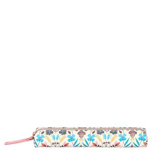 Autumnal floral slim pencil case