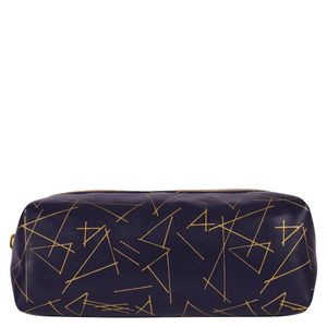 Gold triangle pencil case