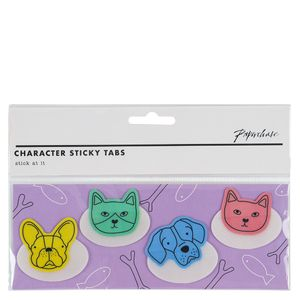Pet Character Sticky Tabs