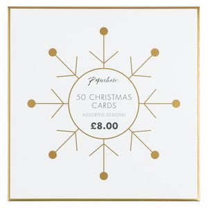 Christmas cards bumper box - pack of 50