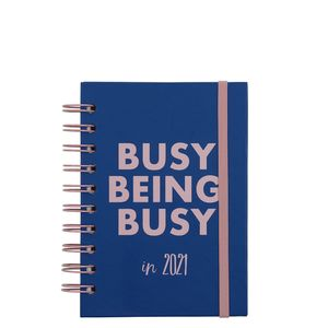 A6 Wiro Busy 2021 diary