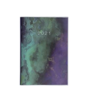 A5 Plastic Green Stone 2021 diary