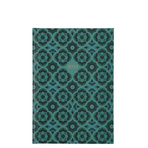 A5 Floral Green Tile 2021 diary