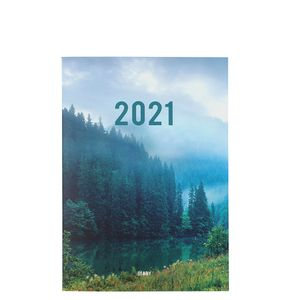 A5 Forest 2021 diary