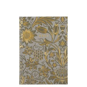 A5 Deboss Floral 2021 diary