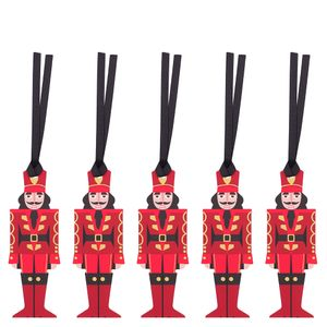 Nutcracker gift tags - pack of 5