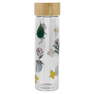 Pressed Flower Water Bottle
