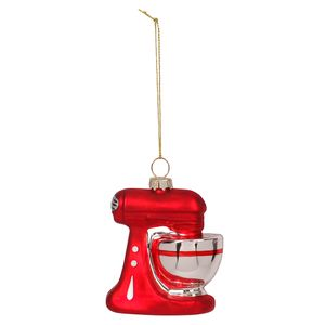Glass Stand Mixer Christmas Decoration
