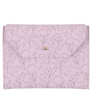 Floral passcase with pockets